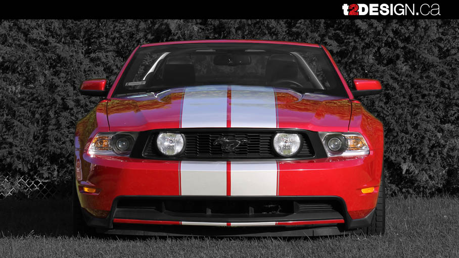 Ford Mustang 5.0 - Décapotable - Rouge